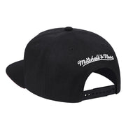 DALLAS MAVERICKS MITCHELL & NESS HARDWOOD CLASSIC M-HAT ZIG ZAG BLACK SNAPBACK CAP