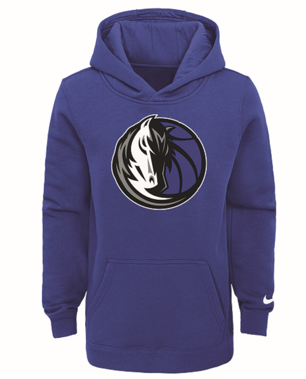 DALLAS MAVERICKS KIDS ROYAL HORSE HEAD ESSENTIAL HOODIE