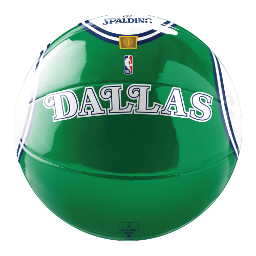 DALLAS MAVERICKS SPALDING HARDWOOD CLASSIC JERSEY BASKETBALL