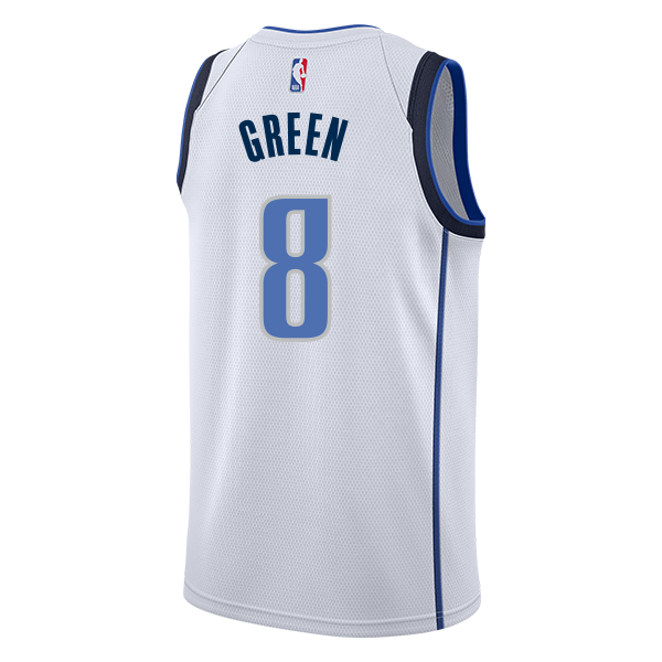 DALLAS MAVERICKS JOSH GREEN NIKE ASSOCIATION SWINGMAN JERSEY