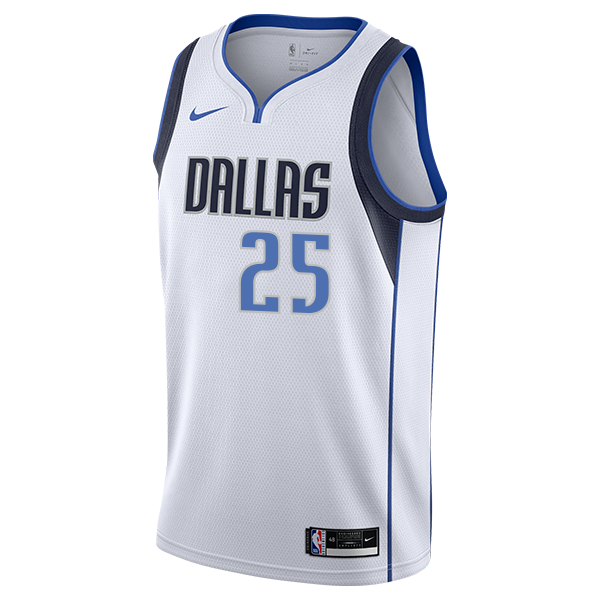 DALLAS MAVERICKS WES IWUNDU NIKE ASSOCIATION SWINGMAN JERSEY