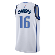 DALLAS MAVERICKS NIKE JAMES JOHNSON ASSOCIATION SWINGMAN JERSEY