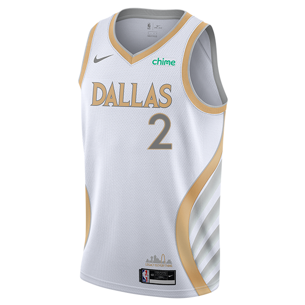 DALLAS MAVERICKS NIKE TYLER BEY 20-21 CITY EDITION SWINGMAN JERSEY