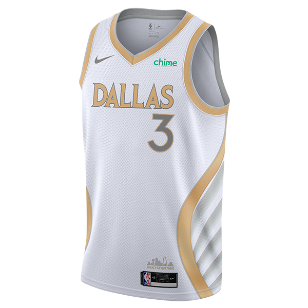 DALLAS MAVERICKS NIKE TREY BURKE 20-21 CITY EDITION SWINGMAN JERSEY