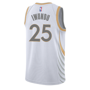 DALLAS MAVERICKS NIKE WES IWUNDU 20-21 CITY EDITION SWINGMAN JERSEY