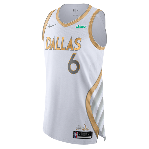 DALLAS MAVERICKS KRISTAPS PORZINGIS CITY EDITION 20-21 AUTHENTIC JERSEY