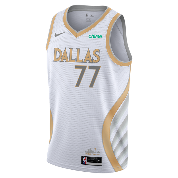 DALLAS MAVERICKS NIKE LUKA DONČIĆ 20-21 CITY EDITION SWINGMAN JERSEY
