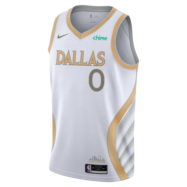 DALLAS MAVERICKS NIKE JOSH RICHARDSON 20-21 CITY EDITION SWINGMAN JERSEY
