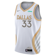 DALLAS MAVERICKS NIKE WILLIE CAULEY-STEIN 20-21 CITY EDITION SWINGMAN JERSEY