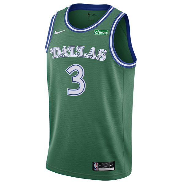 DALLAS MAVERICKS NIKE TREY BURKE 20-21 HARDWOOD CLASSIC SWINGMAN JERSEY