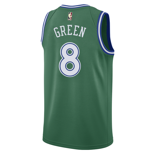 DALLAS MAVERICKS NIKE JOSH GREEN 20-21 HARDWOOD CLASSIC SWINGMAN JERSEY