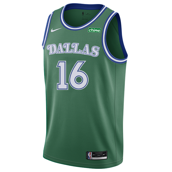 DALLAS MAVERICKS NIKE JAMES JOHNSON 20-21 HARDWOOD CLASSIC SWINGMAN JERSEY