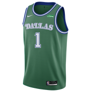 DALLAS MAVERICKS NIKE TYRELL TERRY 20-21 HARDWOOD CLASSIC SWINGMAN JERSEY