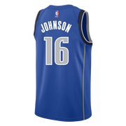 DALLAS MAVERICKS JAMES JOHNSON ICON SWINGMAN JERSEY