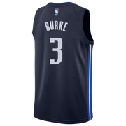 DALLAS MAVERICKS TREY BURKE 20-21 STATEMENT SWINGMAN JORDAN BRAND JERSEY