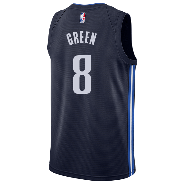 DALLAS MAVERICKS JOSH GREEN 20-21 STATEMENT SWINGMAN JORDAN BRAND JERSEY
