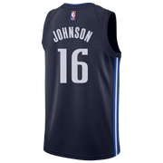DALLAS MAVERICKS JAMES JOHNSON 20-21 STATEMENT SWINGMAN JORDAN BRAND JERSEY