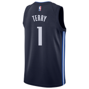 DALLAS MAVERICKS TYRELL TERRY 20-21 STATEMENT SWINGMAN JORDAN BRAND JERSEY
