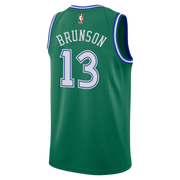 DALLAS MAVERICKS NIKE JALEN BRUNSON 20-21 HARDWOOD CLASSIC SWINGMAN JERSEY