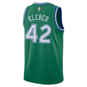 DALLAS MAVERICKS NIKE MAXI KLEBER 20-21 HARDWOOD CLASSIC SWINGMAN JERSEY