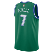 DALLAS MAVERICKS NIKE DWIGHT POWELL 20-21 HARDWOOD CLASSIC SWINGMAN JERSEY