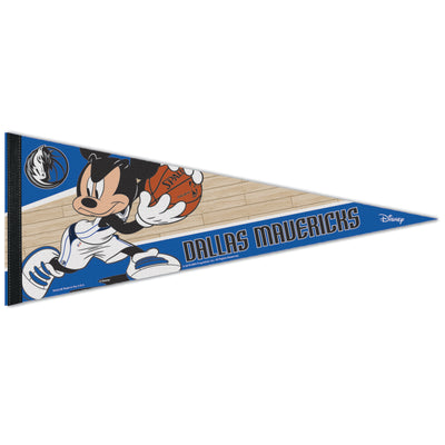 DALLAS MAVERICKS MICKEY MOUSE PENNANT