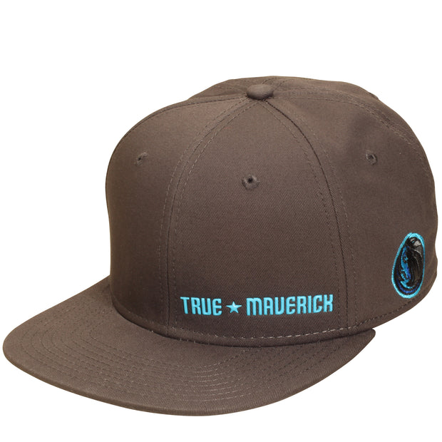 DALLAS MAVERICKS CITY EDITION 2018-2019 ANTHRACITE TRUE MAVERICK SNAPBACK