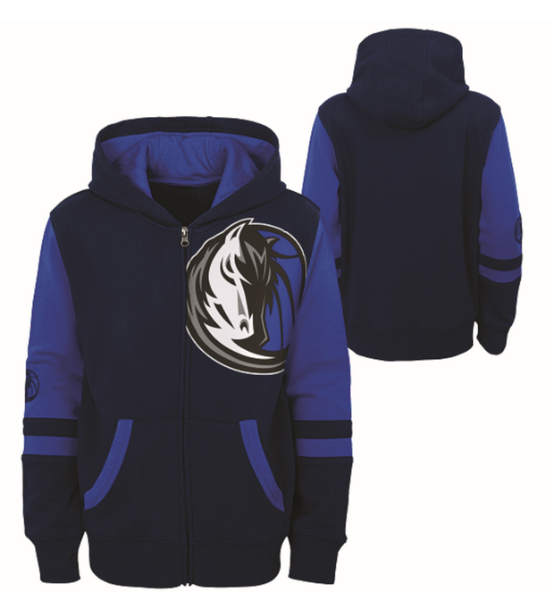 DALLAS MAVERICKS KIDS HORSE HEAD LEAGUE FLEECE JACKET