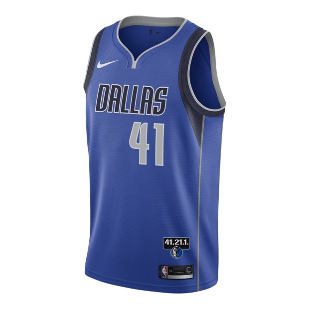 DALLAS MAVERICKS DIRK NOWITZKI 41.21.1 ICON JERSEY