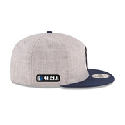 DALLAS MAVERICKS 41.21.1. 950 2TONE GREY SNAPBACK CAP