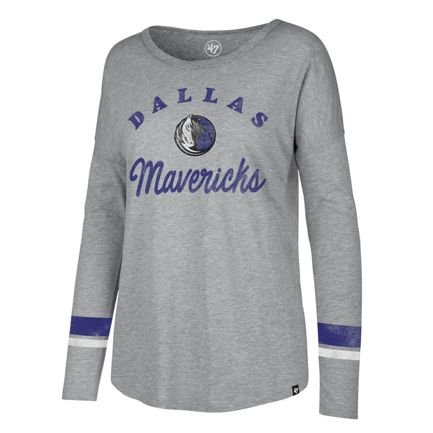 DALLAS MAVERICKS 47 BRAND WOMEN'S LONG SLEEVE SPIRIT TEE
