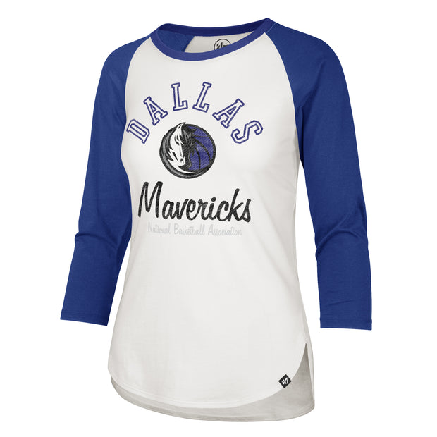 DALLAS MAVERICKS WOMENS HH SCRIPT RAGLAN