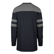 DALLAS MAVERICKS 47BRAND GUNNER LONG SLEEVE CREW