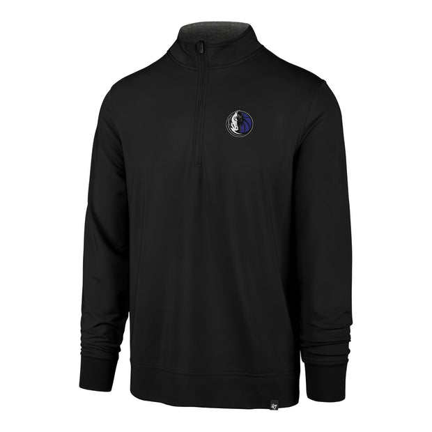 DALLAS MAVERICKS 47BRAND RELAY QUARTER ZIP LONG SLEEVE