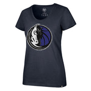 DALLAS MAVERICKS 47BRAND WOMENS HALO SCOOP NECK TEE