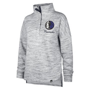 DALLAS MAVERICKS WOMENS HAZE 1/4 ZIP LONG SLEEVE