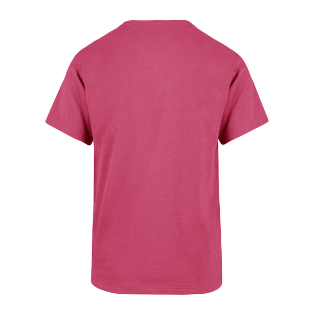 DALLAS MAVERICKS 47 BRAND YOUTH GIRLS SPARKLER PINK TEE