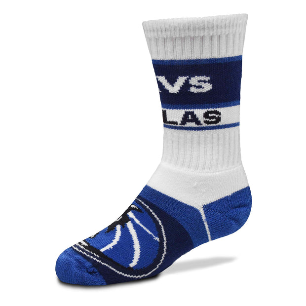 DALLAS MAVERICKS YOUTH BAR STRIPE SOCK