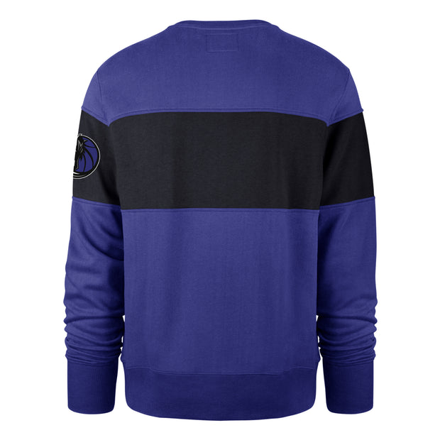 DALLAS MAVERICKS 47 BRAND INTERSTATE ROYAL CREWNECK