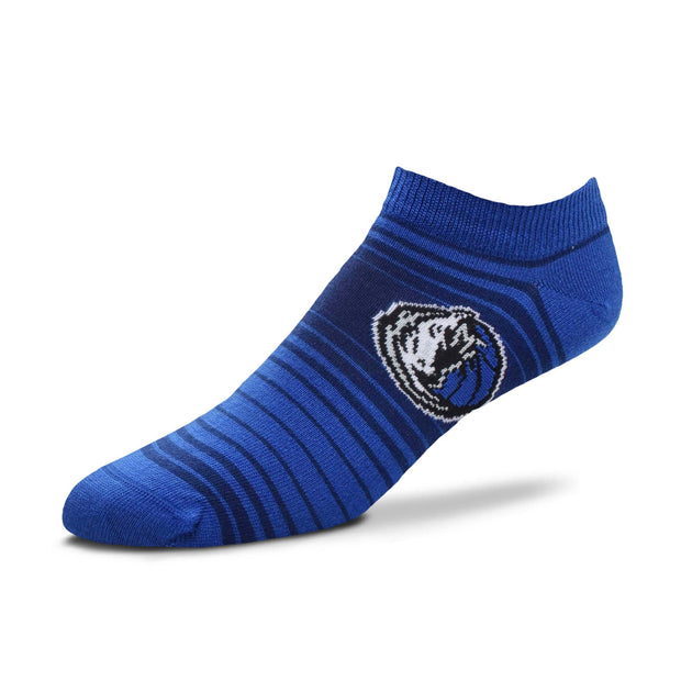 DALLAS MAVERICKS STRIPED NO SHOW SOCK