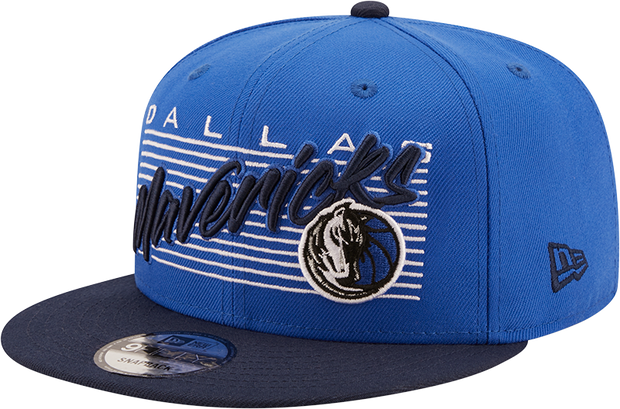 DALLAS MAVERICKS NEW ERA 9FIFTY RETRO SNAPBACK CAP