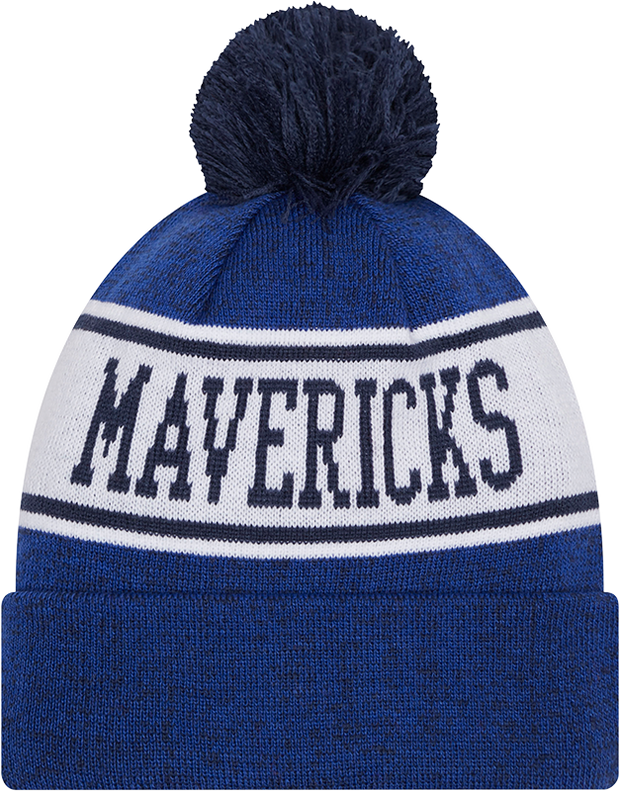 DALLAS MAVERICKS NEW ERA BANNER ROYAL KNIT