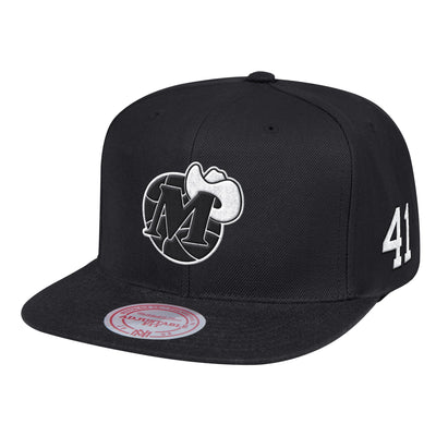 DALLAS MAVERICKS HWC DIRK 41 SNAPBACK