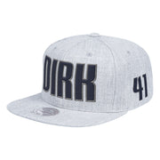DALLAS MAVERICKS DIRK TROPHY SNAPBACK
