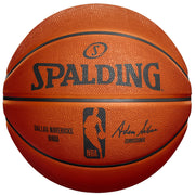 DALLAS MAVERICKS SPALDING B7 AUTOGRAPH WHITE PANEL BASKETBALL