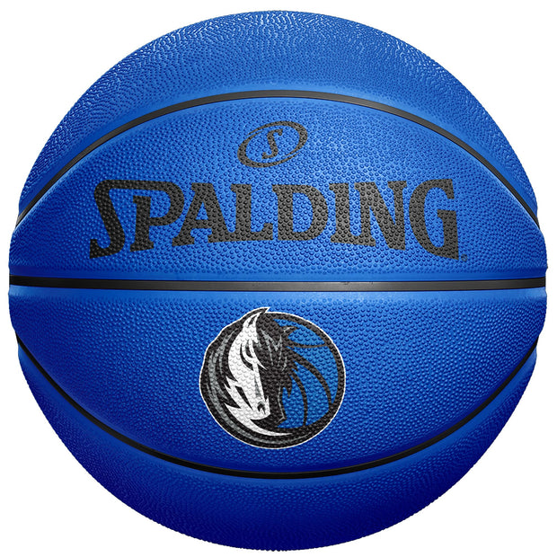 DALLAS MAVERICKS SPALDING IOG RUBBER BASKET BALL ROYAL