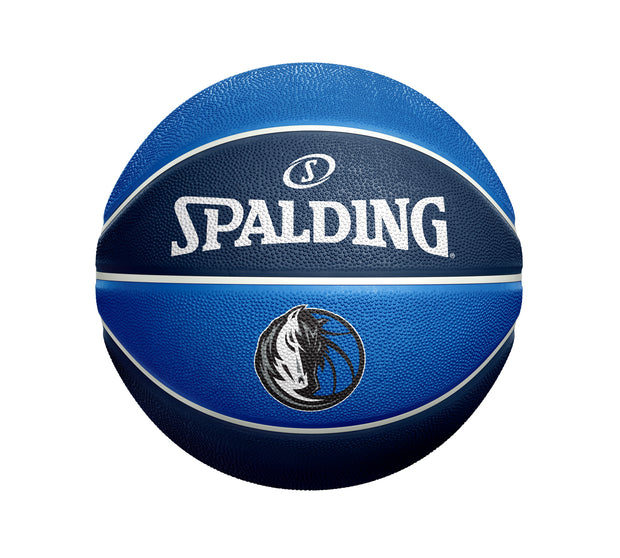 DALLAS MAVERICKS SPALDING PAST AND PRESENT BASKETBALL