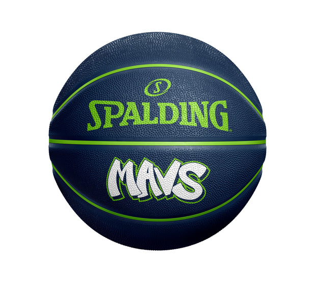 DALLAS MAVERICKS CITY EDITION 19-20 WORDMARK RUBBER BASKETBALL