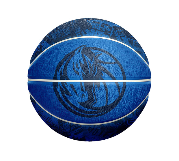 DALLAS MAVERICKS SPALDING ROUTE 66 BASKETBALL