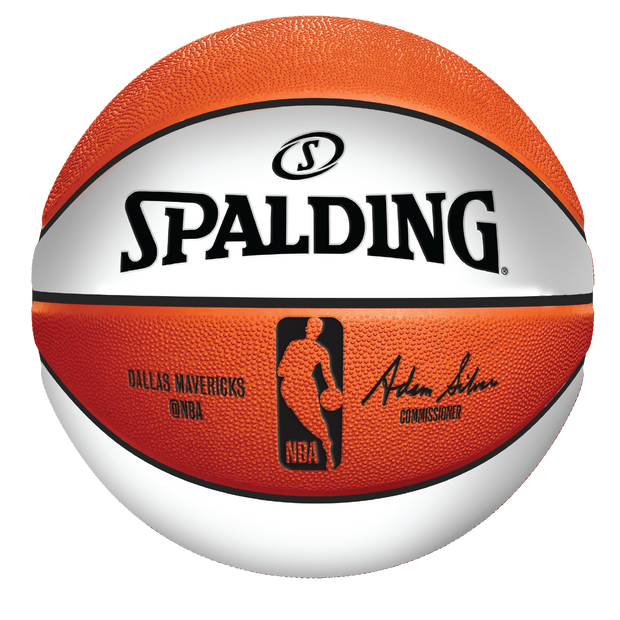 DALLAS MAVERICKS SPALDING MINI AUTOGRAPH BASKETBALL